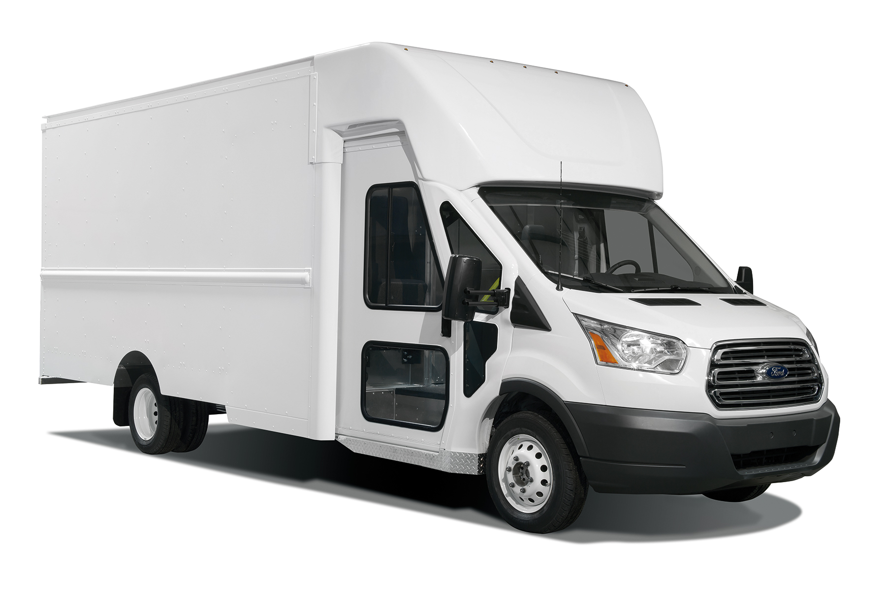 Ford Transit Cutaway Van >> Expedited Pick-Up and Delivery with the Utilimaster Velocity - Work Truck Direct