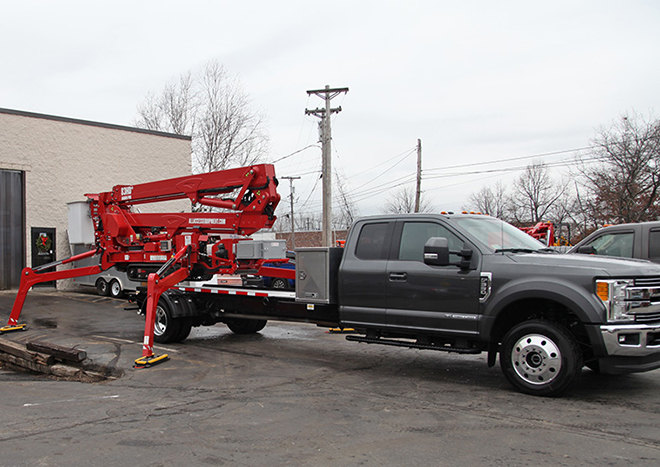 Ford F 550 Tracked Aerial Lift Package Lease And Finance